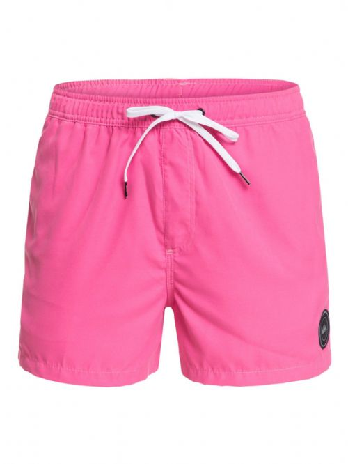 "QUIKSILVER MENS SHORTS.ROSE PINK EVERYDAY VOLLEY 15"" LINED SWIM BOARDIES 9S 7MJ"